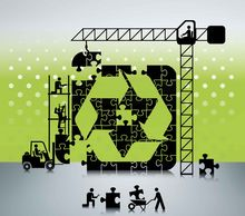 Building Recycling Icon: danleap, iStockphoto.com